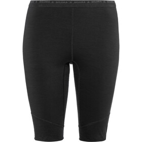 Aclima LightWool Shorts Long Damen jet black